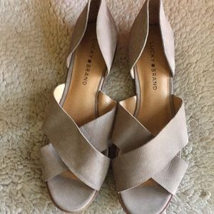 Lucky Brand sandals size 9 NWOB